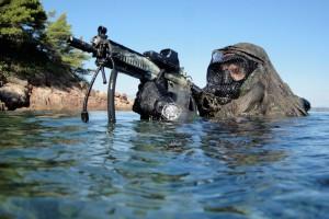 Commando Hubert, Surfacing..stealth approach