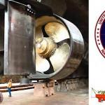 US Navy icebreaker propellers