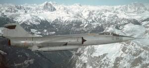 Italian F104 Starfighter
