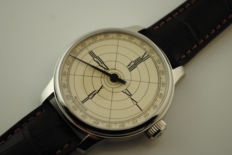 Meistersinger- Benjamin Franklin 4 Hour Watch