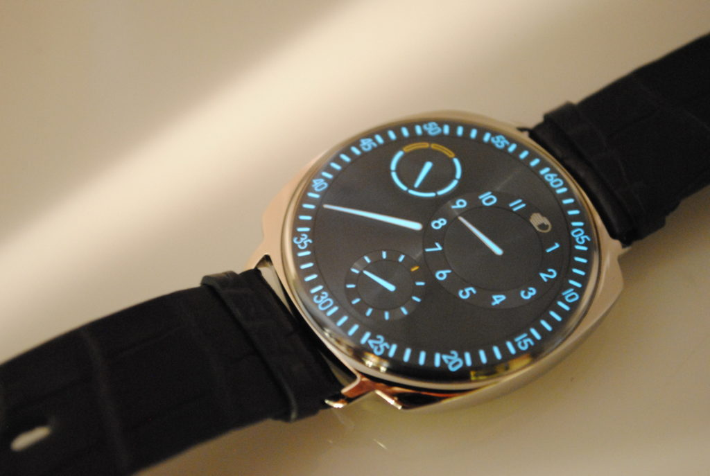 Ressence type 1 squared martin pulli for Ressence watches